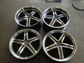 20 MANDRUS MANNHEIM STAGGERED WHEELS FOR MERCEDES BENZ E S CL