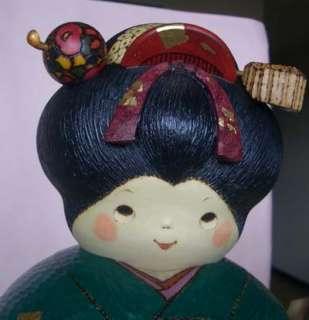REAL Creative Kokeshi Doll Sansaku Maiko Geisya