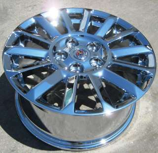 NEW 17 FACTORY CADILLAC CTS CHROME WHEELS RIMS 2010
