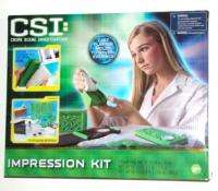 NIB CSI CRIME SCENE INVESTIGATION IMPRESSION KIT Makes Molds