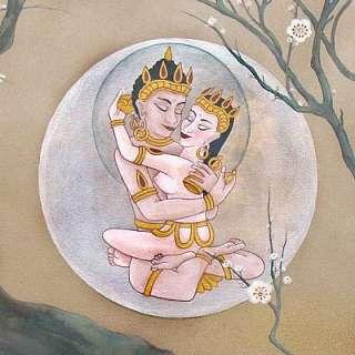 BUDDHAS DREAM Tantric MANDALA Vajrasattva YAB YUM
