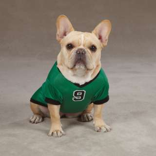 CASUAL CANINE GAME DAY SPORT JERSEY DOG T SHIRT GREEN
