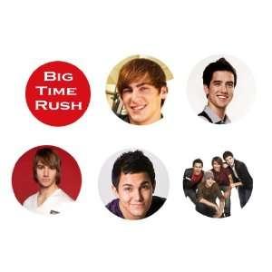 Big Time Rush Set of 6 1.25 Badge Pinback Button