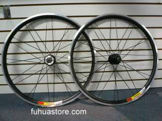 Pair DURO 26 x1.95 BICYCLE STREET TREAD SLICK Bike TIRES Black