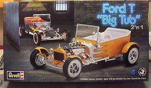 Revell 1/8 Ford T Big Tub Model Kit Factory Sealed NEW
