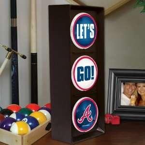 MLB Atlanta Braves Flashing Lets Go Light Sports