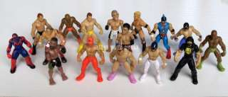 WWE WWF Wrestling wrestlers JAKKS mini action figures toy random lot