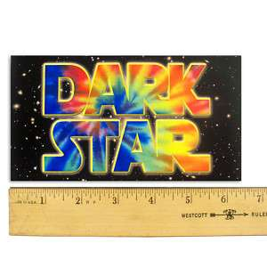 Grateful Dead Dark Star Bumper Sticker 3½X6