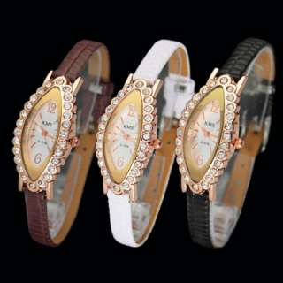 Dimond Style Face Ladys Womens Jelly Watch Quartz Wrist Watch