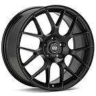 18 ENKEI RAIJIN BLACK RIMS WHEELS 18x9.5 +15 5x114.3 EV