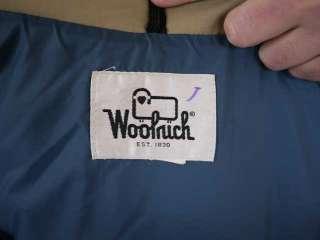 Vtg 80s WOOLRICH Tan Work Ski Vest Mens USA