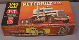 AMT T700 Peterbilt 359 Conventional 1/43 Open Box