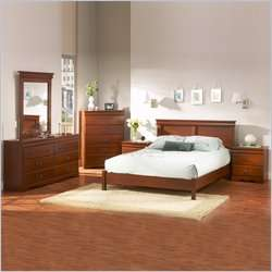 South Shore Vintage Full / Queen Cherry Finish Headboard 066311035902