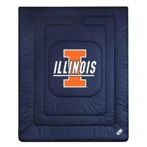 Illinois Fighting Illini Locker Room Comforter (Twin, Full & Queen