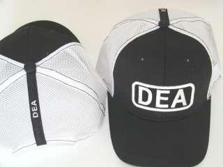 DEA DRUG ENFORCEMENT AGENCY EMBROIDERED MESH CAP hat 51