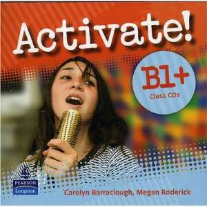 Activate B1 Class CD 1 2 (9781405851107) Barraclough Carolyn Books
