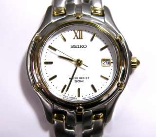 Brand New Seiko Womens SXE586 Le Grand Sports Two Tone Watch