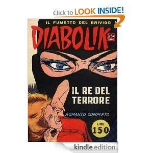 DIABOLIK (1)   Il re del terrore (Fumetti) (Italian Edition) Angela e