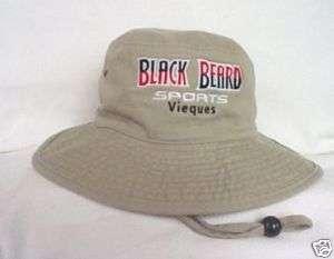 BLACK BEARD SPORTS PUERTO RICO* SAFARI BUCKET HAT S/M