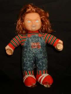 Creepy Chucky Doll   Antique Haunted Halloween Prop *SALE* price till