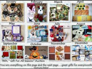 PREMADE TEAR BEARS MAT SETS ALBUM CARD TOPPER PAPER PIECING 4 PAGE