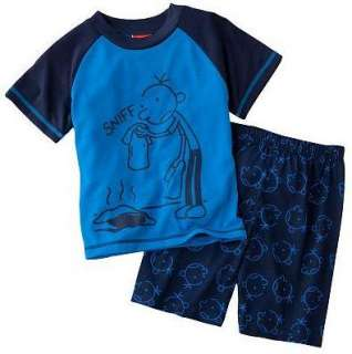 Diary of a Wimpy Kid SNIFF Pajamas Shirt Shorts 4 6