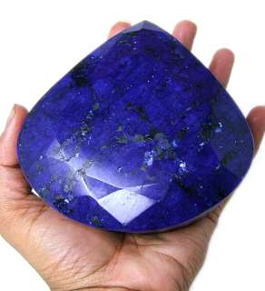 5245.00 CTS CERTIFIED NATURAL HUGE ROYAL BLUE SAPPHIRE GEMSTONE