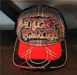 NWT True Religion Hat/Cap TR1408 Grey Unisex 100%AUTH
