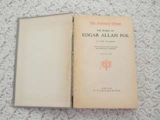 The Complete Works of Edgar Allan Poe Volume 2 Antique Collectible