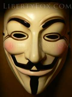 Anonymous  Guy Fawkes Mask  Wikileaks  Licensed Official Rubies