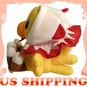Final Fantasy VII White mage CHOCOBO plush Cartoon Toy Doll 7 New