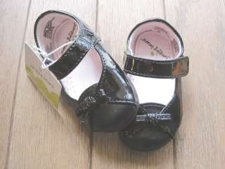 Baby Girls Shoes Black Dress Jumping Beans Sz 2 5 884452605095
