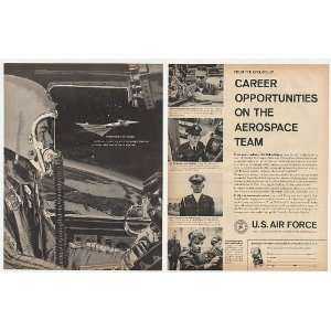 1961 US Air Force Aerospace Career B 70 Valkyrie 2 Page