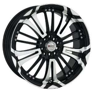 17x7 XXR 001 (Black / Machined) Wheels/Rims 5x100/114.3