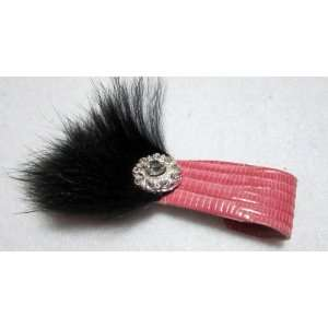NEW Pink Vintage Hollywood Style Hair Clip, Limited