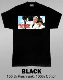Fantasy Island Retro Cult 70s TV Show T Shirt