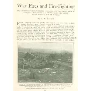 1918 Government Fire Prevention Campaign World War I