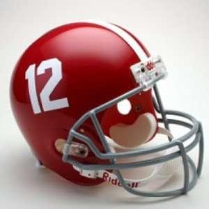 Alabama Crimson Tide Mini Replica Riddell Unsigned Helmet
