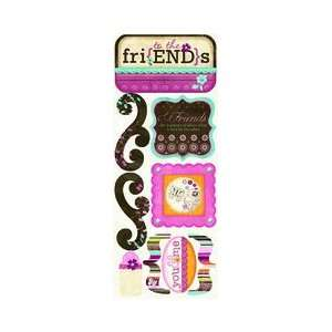 Press   Sophie Collection   Cardstock Stickers   Friends To The End