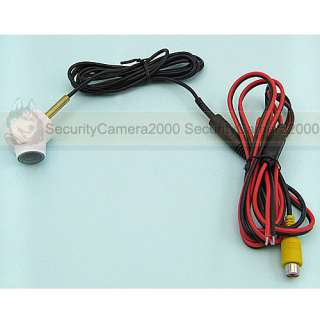 Outdoor Back Up Car Rearview Camera 1.8mm Wide Angle Lens Waterproof