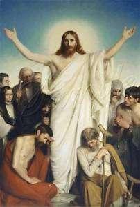 VINTAGE JESUS CHRIST COME UNTO ME CHRISTIAN CANVAS ART