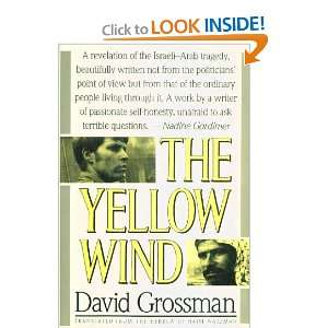 The Yellow Wind David Grossman Books