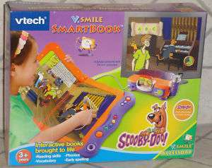 VTECH V.SMILE SMARTBOOK SCOOBY DOO NEW IN BOX