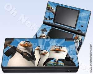 Nintendo DSi Skin Vinyl Decal   Madagascar Penguins #2