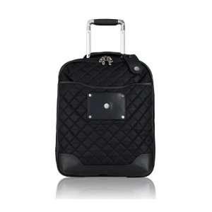 Marseille Vertical 19 Rolling Laptop Luggage Black