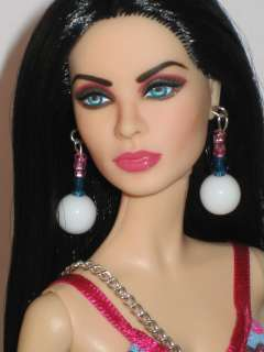 OOAK Model Muse Barbie doll partial repaint & reroot Barbie art dolls