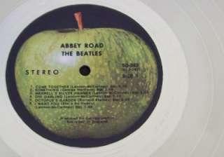 The Beatles Abbey Road PLATINUM (White Gold ) LP Record Album Disc