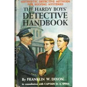 Methods for Solving Mysteries: Franklin W. Dixon:  Books