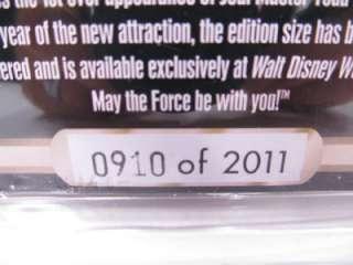 2011 Disney Star Wars Weekend Stitch as Yoda Hologram Limited Edition