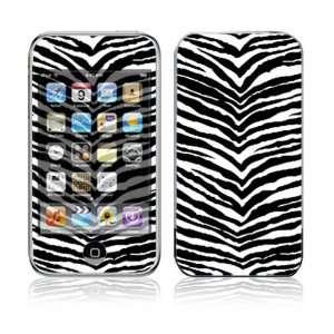 Apple iPod Touch (1st Gen) Vinyl Decal Sticker Skin   Black Zebra Skin
